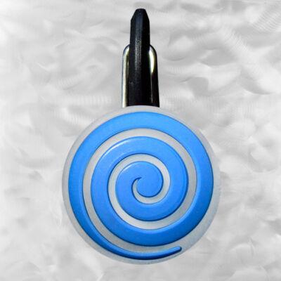 ClipLit LED blue spiral - kék spirál