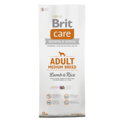 BRIT Care Hypo-allergenic Adult Medium Breed Lamb&Rice