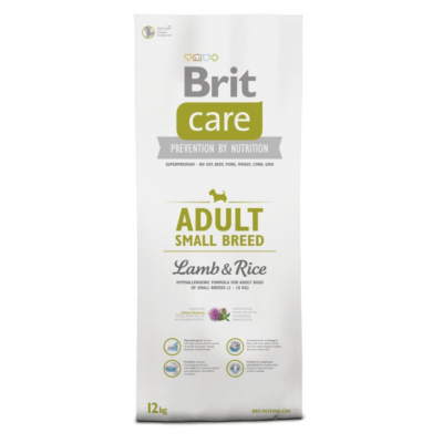 BRIT Care Hypo-allergenic Adult Small Breed Lamb&Rice