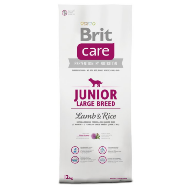 BRIT Care Hypo-allergenic Junior Large Breed Lamb&Rice