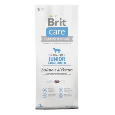 BRIT Care Grain Free Junior Large Breed Salmon & Potato
