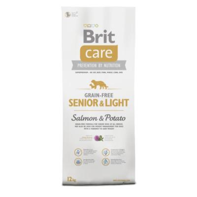 BRIT Care Grain Free Senior Salmon & Potato