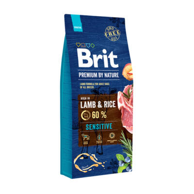 BRIT Premium by Nature Sensitive Lamb&Rice
