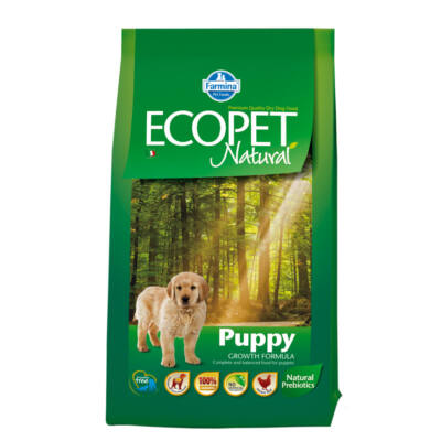 Ecopet Natural Puppy  2,5 kg
