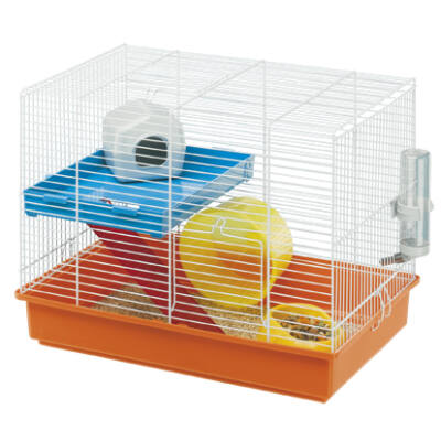 Ferplast Hamster Duo White Hörcsögketrec