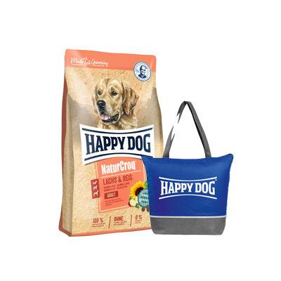 Happy Dog NaturCroq  Lachs&Reis + ajándék hűtőtáska