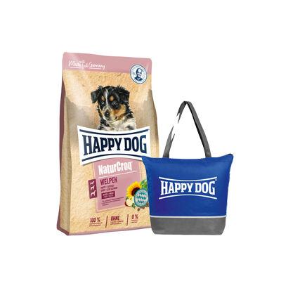 Happy Dog NaturCroq Welpen + ajándék hűtőtáska
