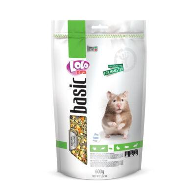 Lolo Basic - Complete food for hamster 600 g Doypack