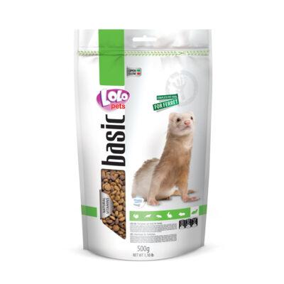 Lolo Basic - Complete food for ferret 500g Doypack