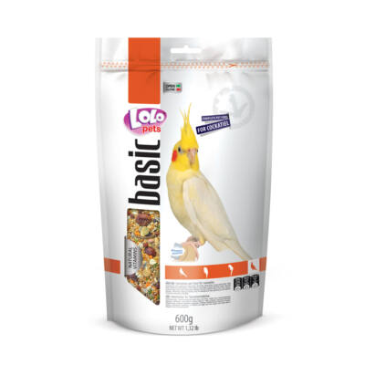 Lolo Basic - Complete food for cockatiel Doypack 600 g