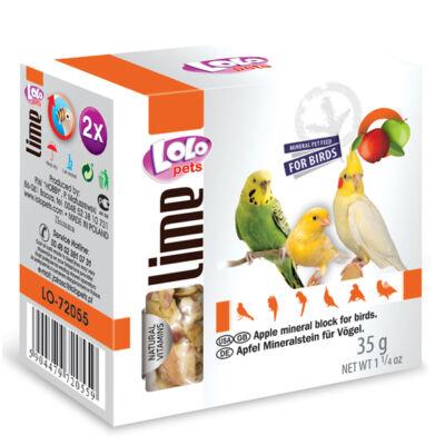 Lolo Lime - Apple mineral blockfor birds 35 g