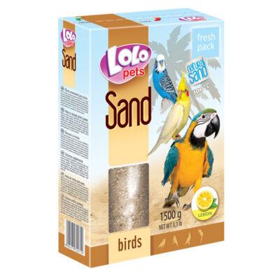 Lolo Lemon sand for birds 1,5 Kg