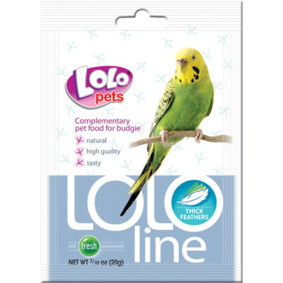 Lolo Lololine thick feather budgie 20 g