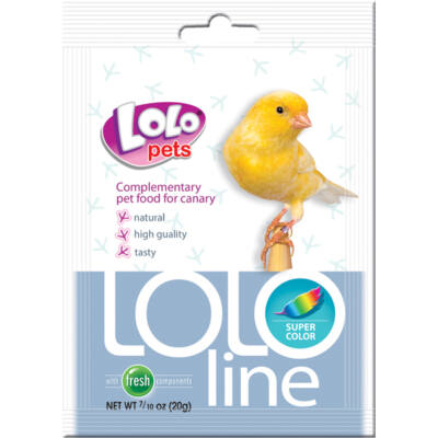 Lolo Lololine super color for canary 20 g