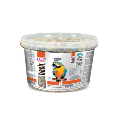 Lolo Basic - Complete food for big parrots 3L 1,5 Kg
