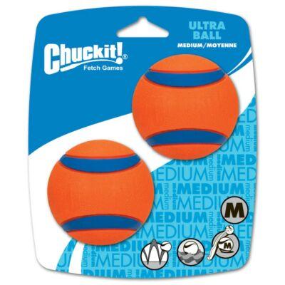 Chuckit! Ultra Balls gumilabda 2db  - az elnyűhetetlen M