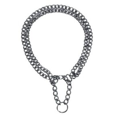 Fojtó fém 2 soros kombinált nyakörv