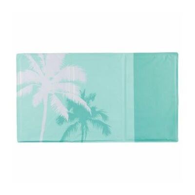 Trixie hűsítő matrac trópusi mintával menta 90x50