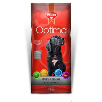 Visán Optima Puppy & Junior Large Breed (28/16) 3 kg