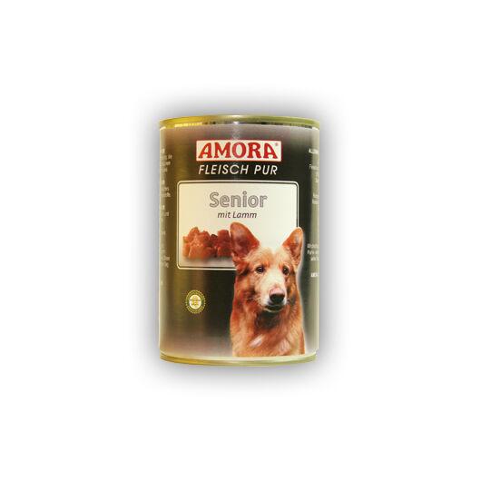 Amora Fleisch Pure Senior mit Lamm (színtiszta hús bárnyhússal) 400 gr