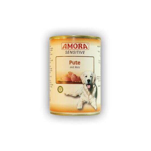 Amora Sensitive Pute mit Reis (pulykatojó hús rizzsel) 400 gr