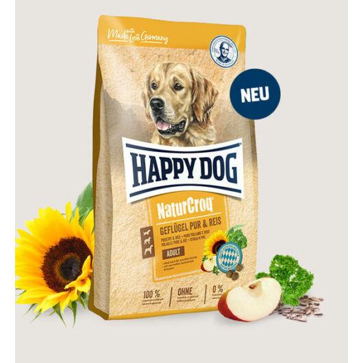 Happy Dog NaturCroq  Geflügel&Reis