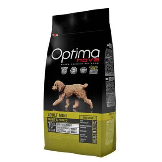 Visán Optimanova Dog Adult Mini Rabbit & Potato 2 kg