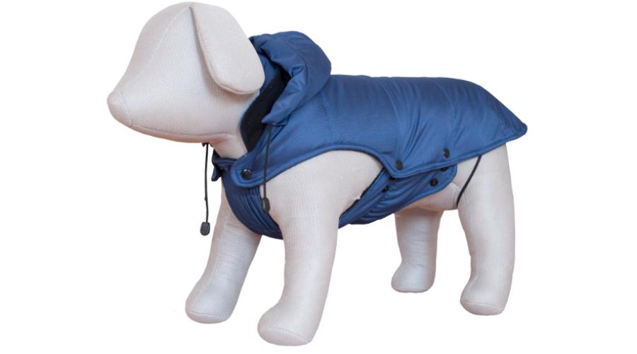 290dfa672f Kutyaruha bélelt, vízlepergetős, patentos, kapucnis KÉK Katt rá a  felnagyításhoz