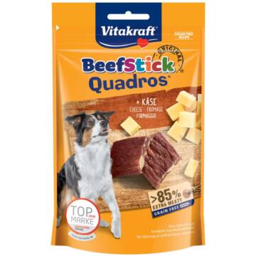 Vitakraft Beef Stick Quadros Sajtos 70 g