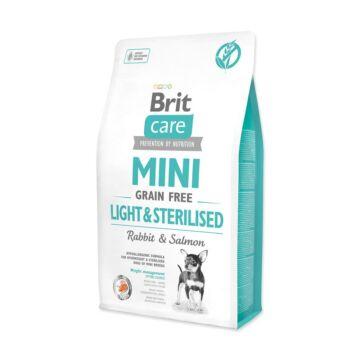 Brit Care Mini Light&Sterilised Rabbit&Salmon  7