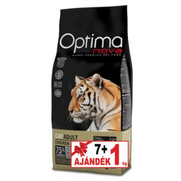Visán Optimanova Cat Adult Chicken&Rice 7+1 kg