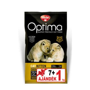 Visán Optimanova Cat Kitten 7+1 kg