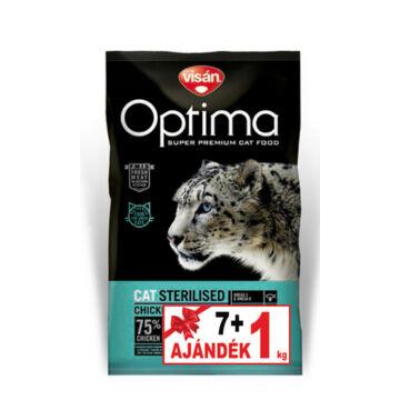 Visán Optimanova Cat Sterilised 7+1 kg