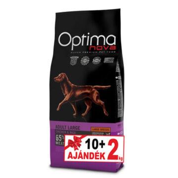 Visán Optimanova Dog Adult Large Chicken&Rice 10+2 kg