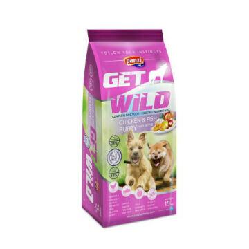panzi get wild puppy chicken fish