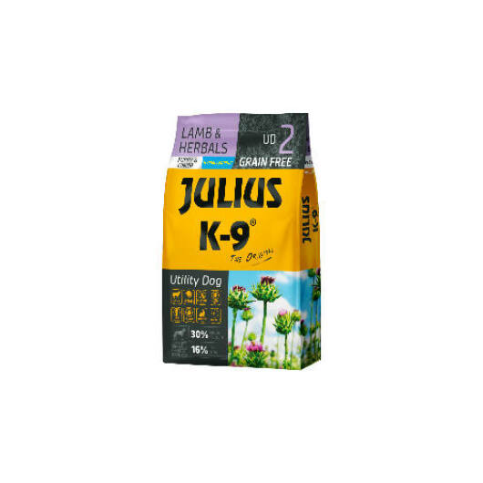 Julius K-9 Grain Free  City Dog Puppy Junior - Duck & Pear 10 kg