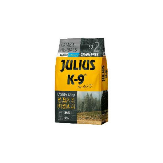 Julius K-9 Grain Free Utility Dog Senior - Lamb&Herbals 10 kg
