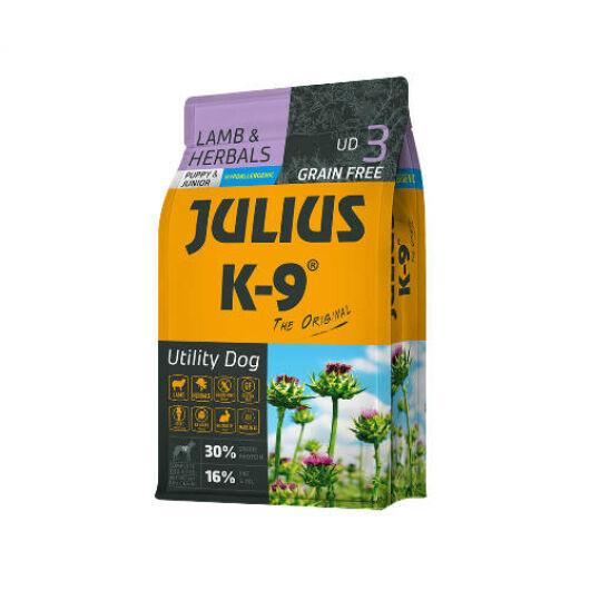 Julius K-9 Grain Free  Utility Dog Puppy Junior - Lamb & Herbals 3 kg
