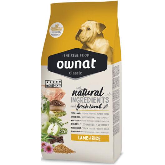 Ownat Dog Classic Lamb&Rice 20 kg