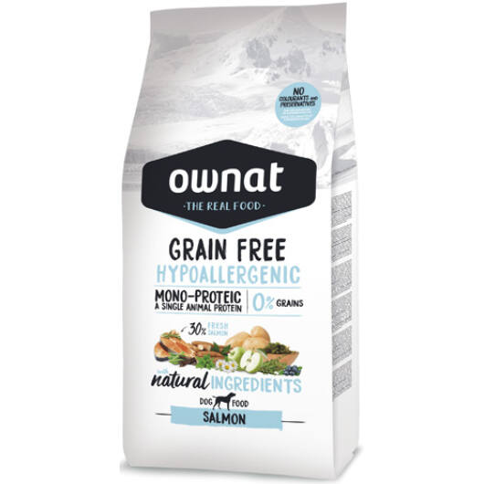 Ownat Dog Grain Free Hypo Pork 3 kg
