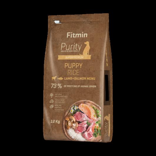 Fitmin Rice Puppy bárány lazac