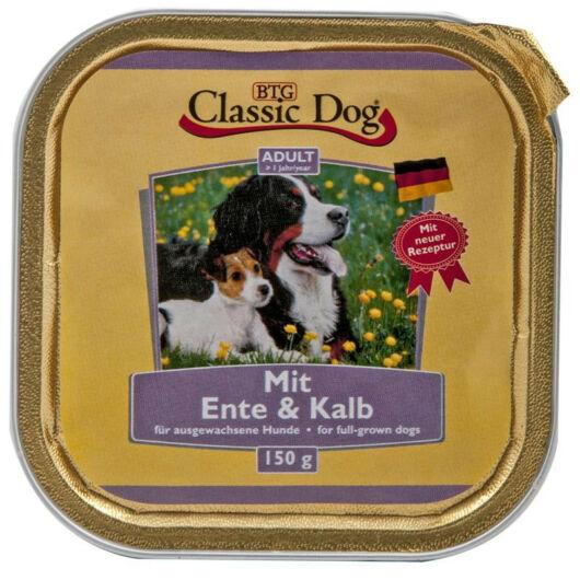 Classic Dog alutálkás kutyakonzerv kacsa+borjú 150g