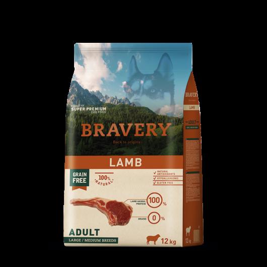 bravery dog adullt lamb medium large bárányos