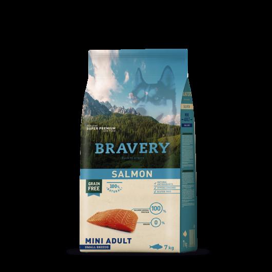 bravery dog adult mini salmon