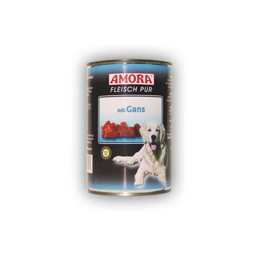 Amora Fleisch Pure Gans (színtiszta hús libahússal) 400 gr