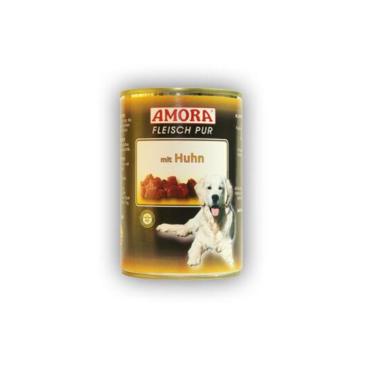 Amora Fleisch Pure Huhn (színtiszta hús csirkehússal) 400 gr