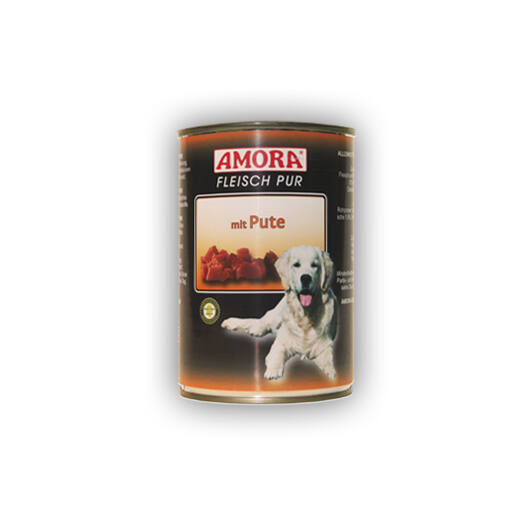 Amora Fleisch Pure Pute (színtiszta hús pulyakhússal) 800 gr