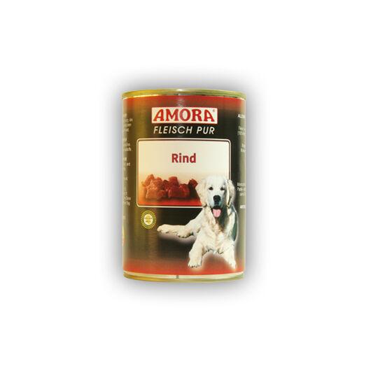 Amora Fleisch Pure Rind (színtiszta marhahús) 400 gr