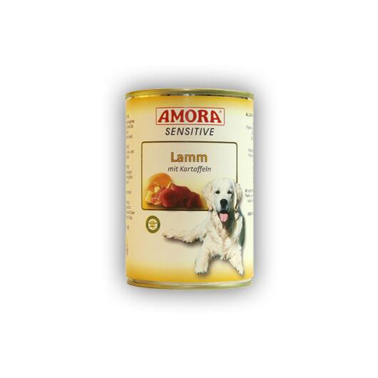 Amora Sensitive Lamm mit Kartoffeln+cranberry (bárányhús burgonyával, áfonyával) 800 gr