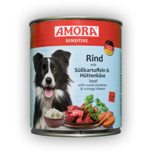 Amora Sensitive Rind/Süsskartoffel + Hüttenkase 400 gr